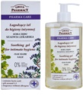 Green Pharmacy Pharma Care Oak Bark Sage zklidňující gel na intimní hygienu