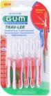 G.U.M Trav-Ler Interdental Brushes 6 pcs