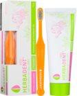 Herbadent Kids zubní pasta pro děti s fluoridem + kartáček