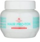 Kallos KJMN maska za šibke in poškodovane lase s kokosovim oljem, hialuronsko kislino in kolagenom
