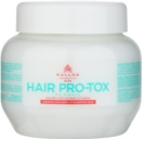 Kallos KJMN masque pour cheveux fragiles et abîmés à l'huile de coco, acide hyaluronique et collagène