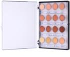 Kryolan Dermacolor Camouflage System High-Coverage Cream Concealer Mini Palette, 16 Shades
