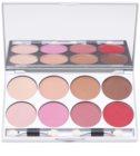 Kryolan Basic Eyes paleta de 8 culori  cu oglinda si aplicator