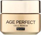 L'Oréal Paris Age Perfect Cell Renew noční krém pro obnovu pleťových buněk