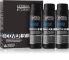 L'Oréal Professionnel Homme Cover 5' coloração tonificante para cabelo  3 pçs