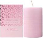 Luminum Candle Premium Aromatic Cherry illatos gyertya    közepes (Ø 60 - 80 mm, 32 h)