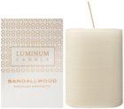 Luminum Candle Premium Aromatic Sandalwood vela perfumada    mediano (Ø 60 - 80 mm, 32 h)