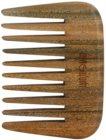 Magnum Natural hřeben z guajakového dřeva - styl afro