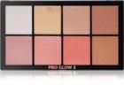 Makeup Revolution Pro Glow 2 палетка хайлайтерів