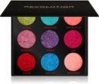 Makeup Revolution Pressed Glitter Palette paleta de glitter prensado