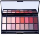 Makeup Revolution New-Trals vs Neutrals палітра тіней з дзеркальцем та аплікатором