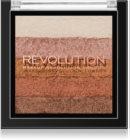 Makeup Revolution Shimmer Brick bronzer a rozjasňovač 2 v 1