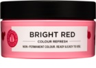 Maria Nila Colour Refresh Bright Red jemná vyživující maska bez permanentních barevných pigmentů