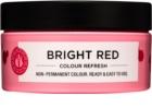 Maria Nila Colour Refresh Bright Red jemná vyživujúca maska bez permanentných farebných pigmentov