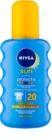 Nivea Sun Protect & Bronze intensywny spray  do opalania SPF 20
