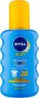 Nivea Sun Protect & Bronze intenzív napozó spray SPF 20
