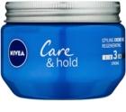 Nivea Care & Hold krémový gél na vlasy