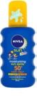 Nivea Sun Kids дитячий кольоровий спрей для засмаги SPF 50+