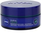 Nivea Visage Pure & Natural regenerační noční krém pro všechny typy pleti