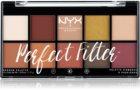 NYX Professional Makeup Perfect Filter Shadow Palette paleta očních stínů