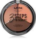 NYX Professional Makeup 3 Steps To Sculpt контурна палетка для обличчя