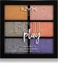 NYX Professional Makeup Foil Play paleta očních stínů