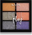 NYX Professional Makeup Foil Play palette de fards à paupières