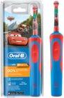 Oral B Stages Power Cars D12.513.1 escova de dentes eléctrica para crianças