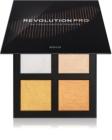 Revolution PRO 4K Highlighter Palette paleta rozjasňovačů