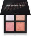 Revolution PRO 4K Highlighter Palette paleta osvetljevalcev