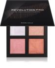 Revolution PRO 4K Highlighter Palette paleta rozjaśniaczy