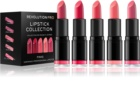 Revolution PRO Lipstick Collection sada rúžov Pinks (5 ks)
