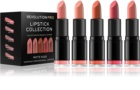 Revolution PRO Lipstick Collection sada rúžov Matte Nude (5 ks)