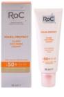 RoC Soleil Protect захисний флюїд проти зморшок SPF 50+
