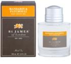 St. James Of London Mandarin & Patchouli gel po holení pro muže 100 ml