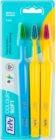 TePe Colour Soft zubní kartáčky 3 ks