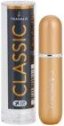 Travalo Classic HD nachfüllbarer Flakon mit Zerstäuber unisex 5 ml  Farbton Gold