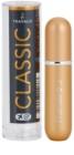 Travalo Classic HD sticluta reincarcabila cu atomizér unisex 5 ml  culoare Gold