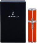 Travalo Milano nachfüllbarer Flakon mit Zerstäuber unisex 5 ml  Orange