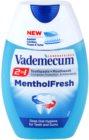 Vademecum 2 in1 Menthol Fresh zubní pasta + ústní voda v jednom
