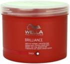Wella Professionals Brilliance maska pre hrubé, farbené vlasy