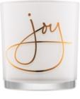Yankee Candle Magical Christmas szklany świecznik na sampler   Joy