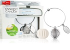 Yankee Candle Clean Cotton parfum pentru masina   pandantiv + refill (Linear)