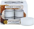 Yankee Candle Soft Blanket čajová sviečka 12 x 9,8 g