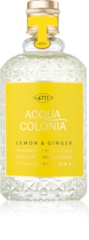 4711 Acqua Colonia Lemon & Ginger eau de cologne unisex 170 ml