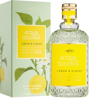 4711 Acqua Colonia Lemon & Ginger eau de Cologne mixte 170 ml