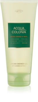 4711 Acqua Colonia Blood Orange & Basil gel de dus unisex 200 ml