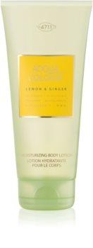 4711 Acqua Colonia Lemon & Ginger losjon za telo uniseks