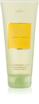 4711 Acqua Colonia Lemon & Ginger telové mlieko unisex 200 ml