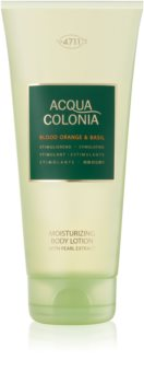 4711 Acqua Colonia Blood Orange & Basil lapte de corp unisex 200 ml